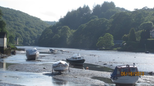 Low tide on the Lerryn estuary