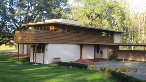...but I think the Frank Lloyd Wright designed house in Silverton was pretty neat.
